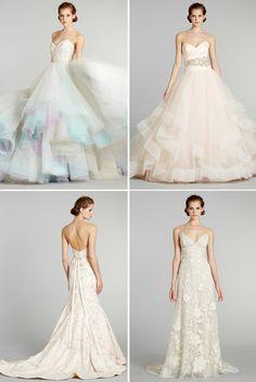 wedding dresses fall 2012 Lazaro bridal gowns 2 | OneWed.com