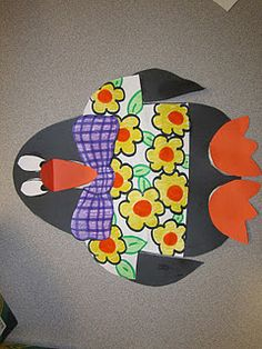 FREE Tacky the Penguin craftivity...with patterns and directions!