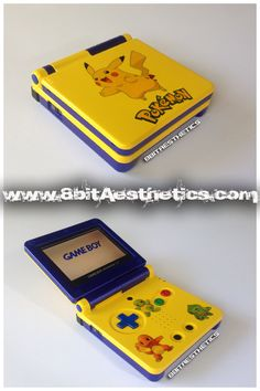 Pokemon Gameboy SP! Visit www.8bitaesthetics.com to place your custom order!