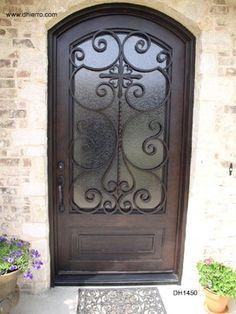 Iron Doors - Exterior - traditional - front doors - dallas - D'Hierro