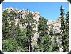 Rock Climbing - Mount Rushmore climbing area