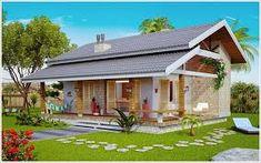 Resultado de imagem para fachada de casas terreas com varanda