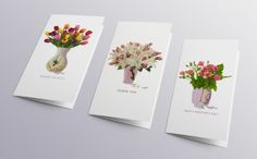 Kategorie Grafický design - 3. místo - Vyara Zlatilová - Do you really love me, Mother, graphic design, postcards, flowers, zdroj: Talent designu, ZLIN DESIGN WEEK #design #czechdesign