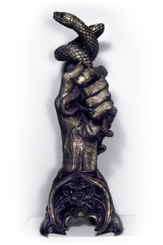 Hand Of Glory Home Decor Candlestick Holder By Dellamorte And Co Product Description