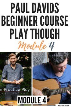 Paul Davids Beginner Guitar Course - Learn, practice, play. Paul Davids Guitar. Learning Guitar, Playing Guitar, Guitar Tips, Guitar Lessons, Guitar Accessories, Guitar For Beginners, Classical Guitar, Cool Guitar, Acoustic Guitar