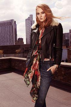 Game of Thrones' Sophie Turner models for Karen Millen