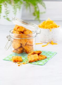 The best Pimento Cheese Crackers recipe is easy to make with only 4 simple ingredients. These homemade crackers are perfect to serve as an appetizer or enjoy as a savory snack.