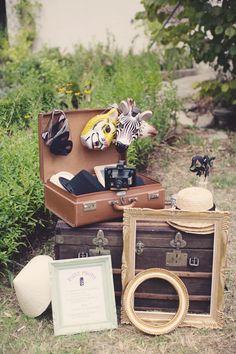 Déco coin photo http://www.lamarieeauxpiedsnus.com/ ©Anne Claire Brun