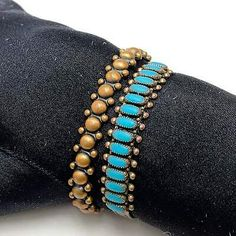 Retro Fashion Beads Flowers Bracelet Beads Chain Vintage Jewelry Gifts