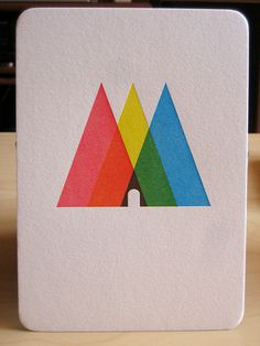 I'm going triangle mad at the moment. Must be the zeitgeist #triangles