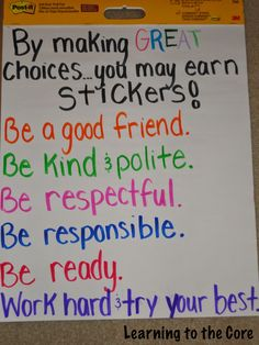 Classroom Management-Adding a Little Something Extra