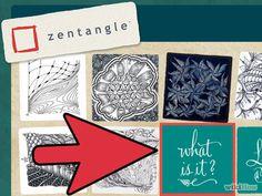 Aprende sobre el método Zentangle