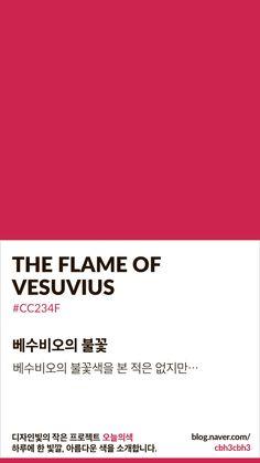 The Flame of Vesuvius Flat Color Palette, Colour Pallete, Pantone Colour Palettes, Pantone Color, Colour Dictionary, Korean Colors, Color Pick, Colour Board, Color Swatches