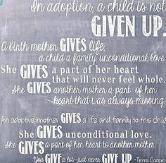 Unconditional Love Birthmothers And Adoption Pinterest - Beautiful photos adoption show true unconditional love
