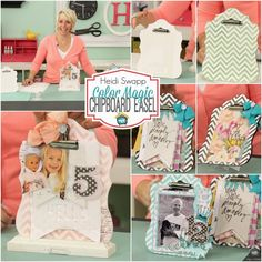 July 16th: Library Bookmark Craft Tip, Heidi Swapp's Color Magic Chipboard Easel, Eclectic Card Kit with Tool Kit