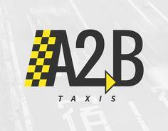 A2B Taxis Logo Design