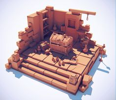 ArtStation - Lowpoly Projects, OccultArt _