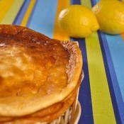 Fiadone au citron (gâteau à la brousse) - une recette Terroir - Cuisine