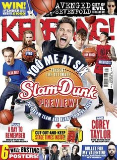 Kerrang magazine You Me at Six Corey Taylor Avenged Sevenfold Day to Remember