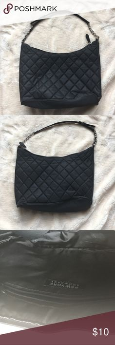 Small Black New York & Co. Quilted Handbag Small Black New York & Co. Quilted Handbag - Great condition. New York & Company Bags Mini Bags