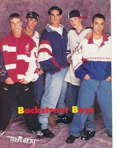 Break up all the matching clothing by coordinating with a sports-theme | 15 Important Style Lessons The Backstreet Boys Taught Us