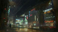 ArtStation - Beyond Human - environment design, Helio Frazao Human Environment, Environment Concept, Environment Design, Urban Samurai, Cyberpunk City, Welcome To The Future, Fantasy Landscape, Fantasy Art, Future City