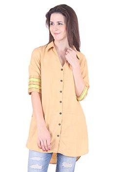 Loom Mool Womens Handloom Silk Beige Shirt In High Low Style And Stripes At Reverse Cuffs Small LOOM MOOL http://www.amazon.in/dp/B01B61DD0U/ref=cm_sw_r_pi_dp_6IgRwb0S4CTZK