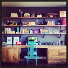 Custom built library DONE! #barnboards #diy #myGeraniumHome #CardinalPoint