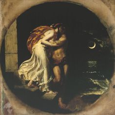 William Etty, 'The Parting of Hero and Leander', exhibited 1827