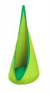 Køb Hængekøjehule i bomuld - Grøn - - - La Siesta. Kids Hammock, Baby Hammock, Hanging Hammock Chair, Indoor Hammock, Kids Swing, Hammock Swing, Swinging Chair, Sensory Swing, Nest Swing