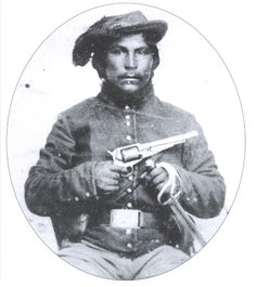 The Cherokee Nation and other area tribes became embroiled in the Civil War conflict. Native American Beauty, Native American Photos, Native American History, American Civil War, Native American Indians, Cherokee History, Cherokee Nation, Cherokee Indians, Civil War Photos