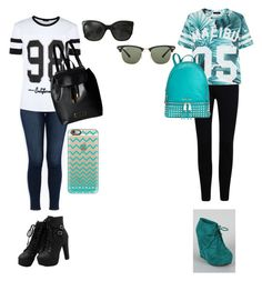 """""""Me and a best friend"""" by beach56 ❤ liked on Polyvore featuring moda, J Brand, Marc by Marc Jacobs, Michael Kors, Casetify, Chanel e Ray-Ban"""