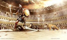 Gladiator Movie, Fan Art, CGArena 2nd Place Winner