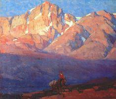 jaredshear:    Edgar PayneHeadin' for the High Country oil on canvas 25 x 30.125