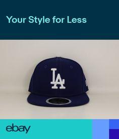 Los Angeles LA Dodgers New Era Kids 59FIFTY AC Fitted Cap Hat 41d1db09abdf