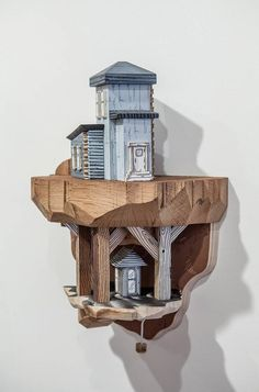 Miniature Cities Built with Carvings and Illustrations – Fubiz Media