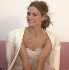 BEHIND THE SCENES: Olivia Palermo For Brides Magazine
