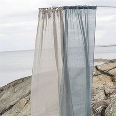 Buy your Dalsland curtain with heading tape and channel from Himla at Nordic Nest. Voile Curtains, Swedish Brands, Beach Themes, Home Living Room, Matilda, Decorating Your Home, Channel, New Homes, Colours