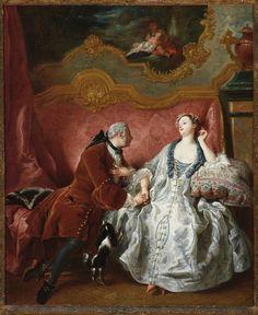 1724 Jean-François de Troy - The Declaration of Love