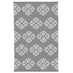 I love the Andalusia Rug, 5'x8', Feather Gray/Ivory on westelm.com