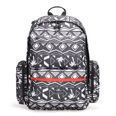 This patterned O'Neill backpack is perfect for student life.