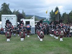 The summer months have a packed programme of Highland Games. The grand finale of the season is the Braemar Gathering, which is held on the first Saturday in September each year, and is always attended by a member of the Royal Family.