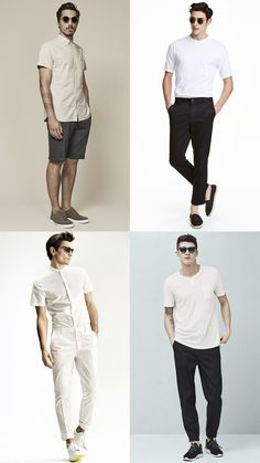 Men's Minimalism Summer Fashion/Style Accessories and Sunglasses Outfit Inspiration Lookbook
