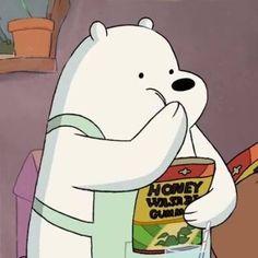 Ice Bear We Bare Bears, 3 Bears, Cute Funny Pics, Cute Memes, Animated Icons, Animated Cartoons, Bear Wallpaper, Cartoon Wallpaper, We Bare Bears Wallpapers