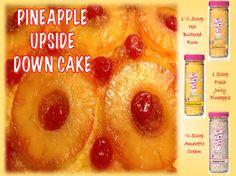 Pink Zebra Recipe Pineapple Upside Down Cake Fall Winter 2016 Hot Buttered Rum Fresh Juicy Pineapple Amaretto Cream PZ