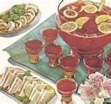 Retro Christmas Party ..you had to have your punch bowl out..lol