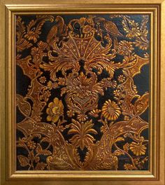 Czerwiński Bogusław, kurdyban - cena 1800 PLN Metal Embossing, Chinese Style, Art Decor, Home Decor, Ornament, Objects, Fabrics, Leather, Inspiration