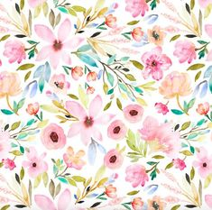 Shop our selection of modern fabric by the yard, indie sewing patterns, thread, and wallpaper. Design Textile, Design Floral, Cute Wallpaper Backgrounds, Cute Wallpapers, Scandinavian Pattern, Boho Pattern, Pattern Design, Girl Cribs, Mini Crib