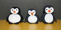How to make a gum paste penguin