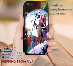 Lovely Couple Nightmare Before Christmas iPhone 6s 6 6s  5c 5s Cases Samsung…